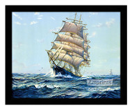 Clear Sailing - Framed Art Print