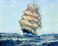 Clear Sailing by Frank Virins Smith - Art Print