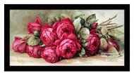 Red Roses - Framed Art Print