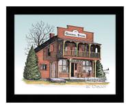The General Store - Framed Art Print