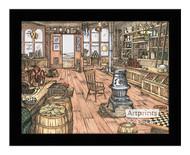 The Mercantile Store - Framed Art Print