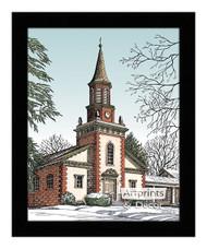 Old City Church - Framed Art Print