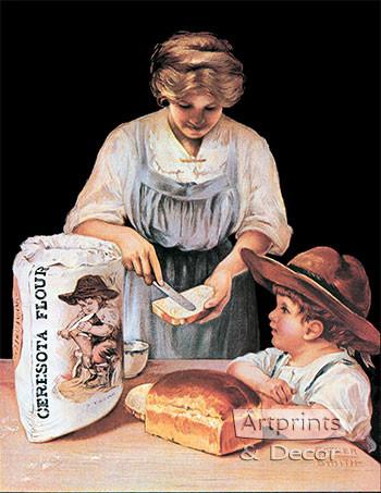 Ceresota Flour - Vintage Ad Art Print