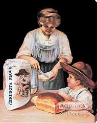Ceresota Flour - Stretched Canvas Vintage Ad Art Print