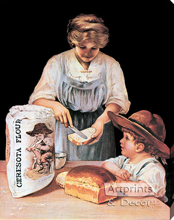 flour vintage advertising Ceresota