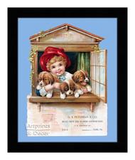 D. S. Peterman & Co. - Vintage Ad - Framed Art Print