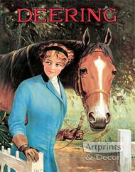 Deering by R. Atkinson Fox - Vintage Ad Art Print