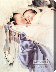Double Blessing by Bessie Pease Gutmann - Stretched Canvas Art Print