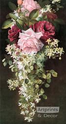 Summer Fragrance by Paul de Longpre - Art Print