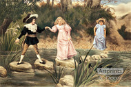 A Helping Hand by H. Blande Sparks - Art Print