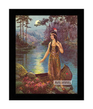 Indian Maiden - Framed Art Print