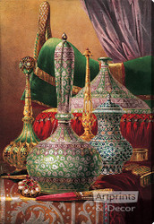 Still Life with Enamelled Objects - Stretched Canvas Art Print