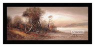Fall at the Beach - Framed Art Print