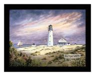 Cape Henlopen Lighthouse - Framed Art Print