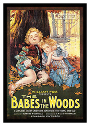 Babes in the Woods - Vintage Movie Poster - Framed Art Print