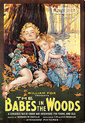 Babes in the Woods -  Vintage Movie Poster Stretched Canvas Art Print