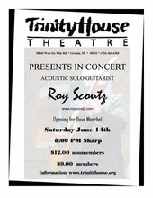 Roy Scoutz Albums: Live at the Trinity House Theatre DVD