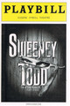 Sweeney Todd Playbill