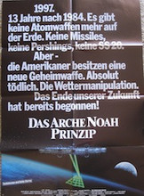 The Noah's Ark Principle (design B, signed by the director) (Das Arche Noah Prinzip (signiert von Roland Emmerich)