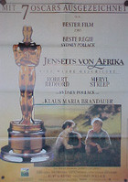 Out of Africa (Jenseits von Afrika (post- Oscar design)