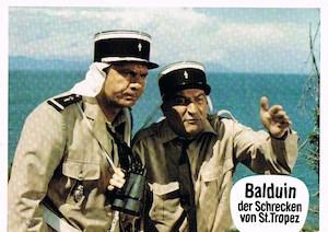 Le Gendarme En Balade Aka The Gendarme Takes Off Balduin Der Schrecken Von St Tropez
