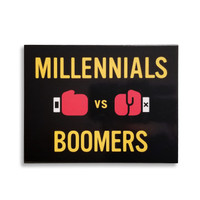 Millennials vs. Boomers - The generation gap trivia game