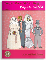 Imperfect Wedding Paper Dolls