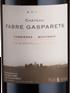 Ch Fabre Gasparets, Corbieres-Boutenac 2015