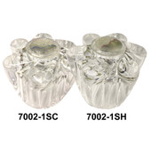Windsor Acrylic Faucet Petal Handle
