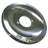 Shower Valve Flange Pressure Balance Satin Nickel