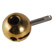 Replacement Brass Ball With Round Post