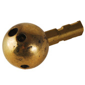 Replacement Plastic Ball With Brass Flat Post