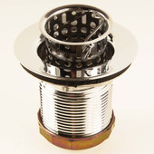 Deep Jr. Basket Strainer Stainless Steel