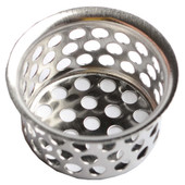 "Strainer Without Post 1 1/2"" Stainless Steel"
