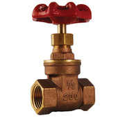 Heavy Duty Brass Gate Valve IPS