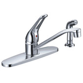 Kitchen Faucet Loop Handle Cast Spout