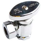Angle Stop Slip Joint Chrome Plated Brass