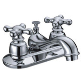 Bathroom Faucet Cross Handle