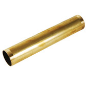 Rough Brass Threaded Tube