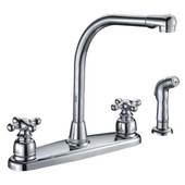 Classic Series Kitchen Faucet Cross Handle L-Type