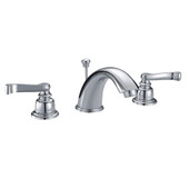 Widespread Faucet Euro Handle