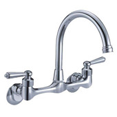 Wallmount Lever Handle Faucet
