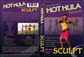 HOT HULA fitness Sculpting DVD