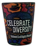 Celebrate Diversity Shot Glass