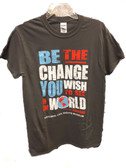 Be the change grey 2xl