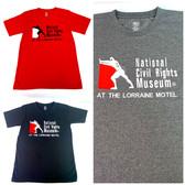 NCRM Embroidered Logo T-Shirt