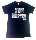 Black Gildan unisex tee shirt