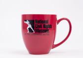 Red Bistro Mug with NCRM Logo