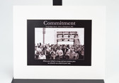 Commitment Matte Frame