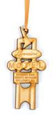 Wooden Lorraine Marquee Ornament